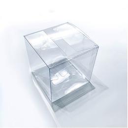 Коробка прозрачная квадратная 10 * 10 * 10см