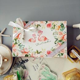 Коробка Фламинго Best Wishes 21 * 14 * 5см