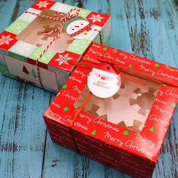 Коробка для кексов 16 * 16 * 7,5см