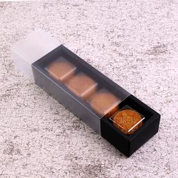 Коробка-пенал черный прозрачный 25 * 8 * 5см