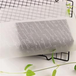 Бумага кондитерская Надписи 10шт 35 * 25см