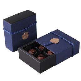Выдвижная коробка синяя  9 * 9 * 3,5см