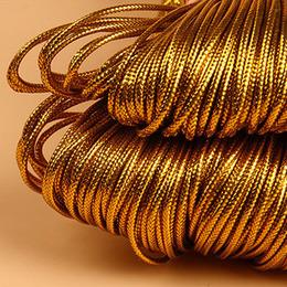 Шнурок золотой 10м.  0,2 * 1000см