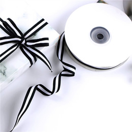 Лента черно-белая 1см 1 * 2200см