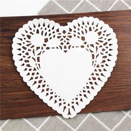 Салфетки сердце 10шт 15,5см