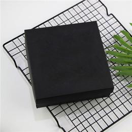 Коробка с крышкой черная 15 * 15 * 5см