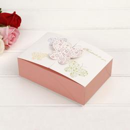 Коробка Бабочки Handmade 17 * 11,5 * 5см