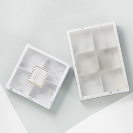 Коробка-пенал мрамор (с дефектом) 23,5 * 16,5 * 5см