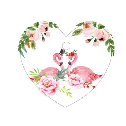 Бирки Фламинго 10шт 5,5 * 5см