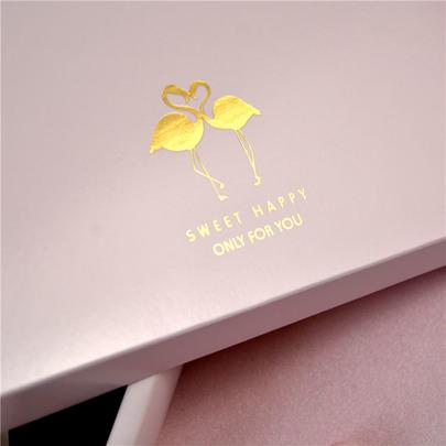 Коробка Золотой фламинго(с дефектом) 23,5 * 16,5 * 5см