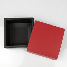 Выдвижная коробка маленькая красная 9 * 9 * 3,5см