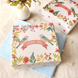 Коробка Счастливые птички 16,5 * 16,5 * 6,5см