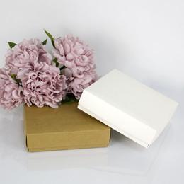 Квадратная коробка с крышкой 18,5 * 18,5 * 5см