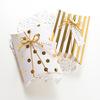 Коробка-подушка золотая
