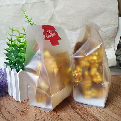 Пакет с золотой подложкой 10шт 23 * 8,5см