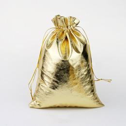 Пакет золотой 16 * 23см