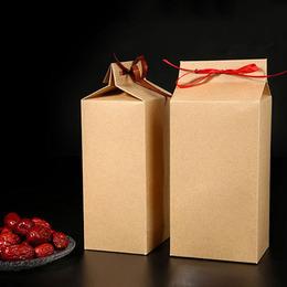 Пакет крафт с завязкой с дефектом 24 * 10 * 8см