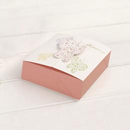 Коробка Бабочки Handmade (с дефектом) 11,4 * 11,4 * 5см