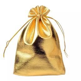 Мешок золотой (с дефектом) 16 * 23см