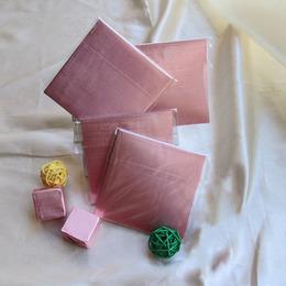 Фольга для конфет розовая 100шт. 8 * 8см