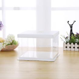 Прозрачная коробка под торт HB 22 * 22 * 16см