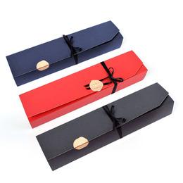 Коробка на 6 конфет 24 * 4,5 * 3,5см