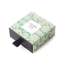 Коробка выдвижная Орнамент  8,5 * 8,5 * 3,5см