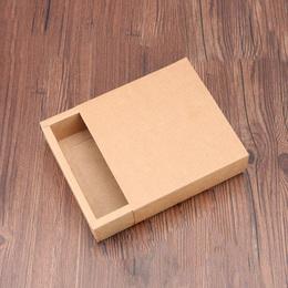 Коробка-пенал крафт 17 * 17 * 5,2см