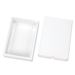 Коробка-пенал белая 32 * 20 * 5см