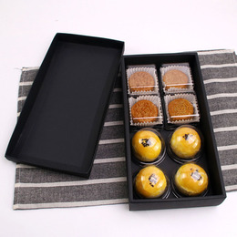 Коробка с крышкой черная (с дефектом) 29 * 15 * 5см