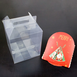 Коробка прозрачная 20 * 17 * 17см
