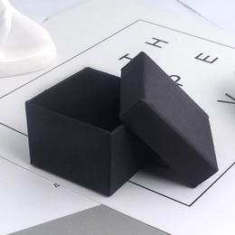 Коробка плотная черная  5*5*3,5см