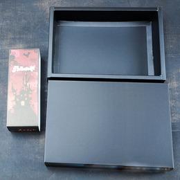 Коробка матовая черная 25 * 17 * 5см