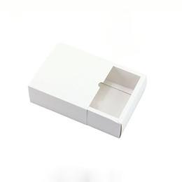 Коробка-пенал белая 8 * 8 * 4см