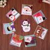 Набор Новогодних открыток 128шт 8,7 * 8,7см