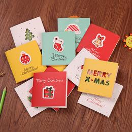 Набор Новогодних открыток 6шт 8,5 * 8,5см