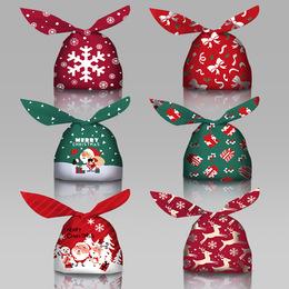 Пакетик новогодний с ушами 50шт 13 * 10см