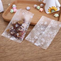 Пакет прозрачные Цветочки 100шт 10 * 7см