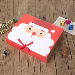 Коробка на завязке Санта (с дефектом) 31 * 25 * 8см