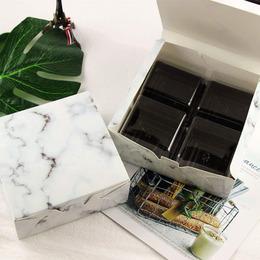 Коробка Слиток мрамора 13,5 * 13,5 * 5см