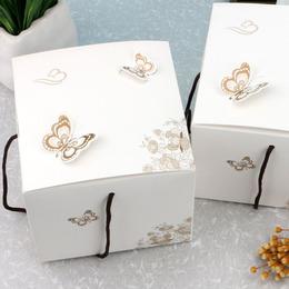 Коробка Бабочки (с дефектом) 11,5 * 11,5 * 10см