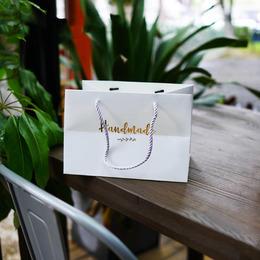 Пакет белый Handmade 25 * 17 * 17,5см