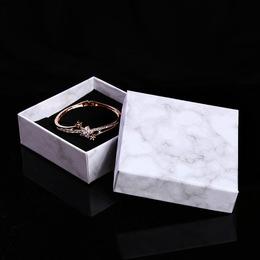 Коробка плотная Мрамор 8 * 8 * 3см